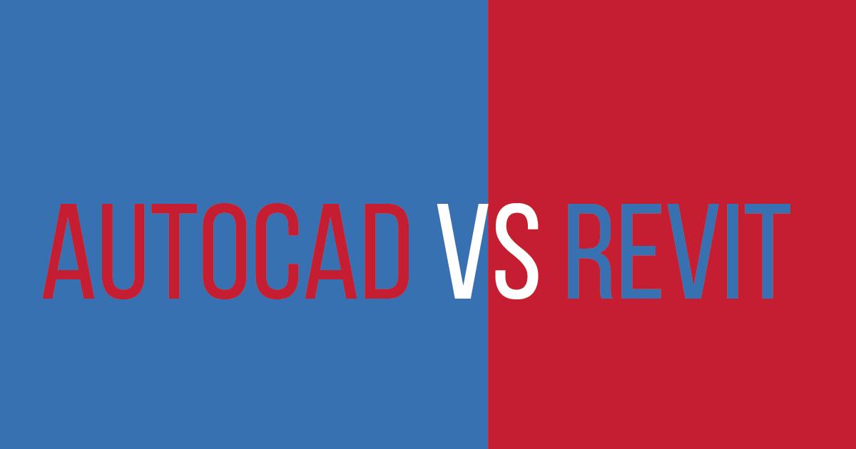 Revit vs AutoCAD (Which is better) | AutoCAD student