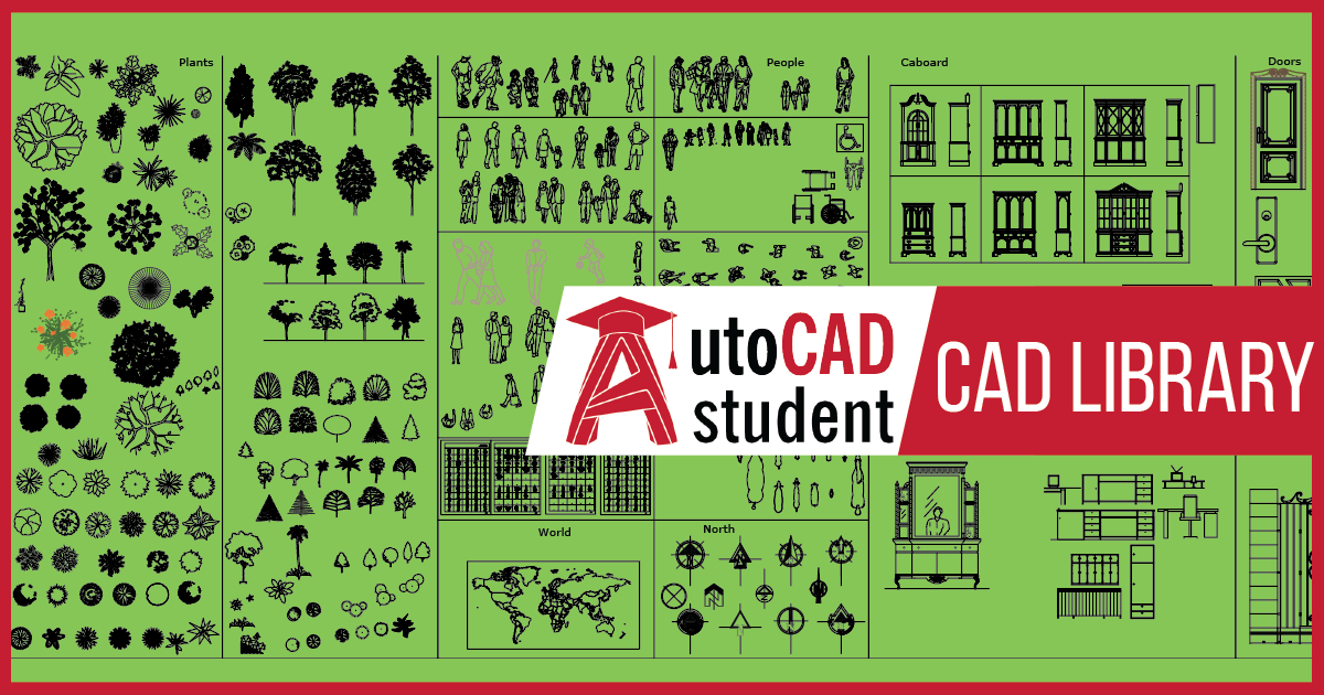 cad file library | AutoCAD student