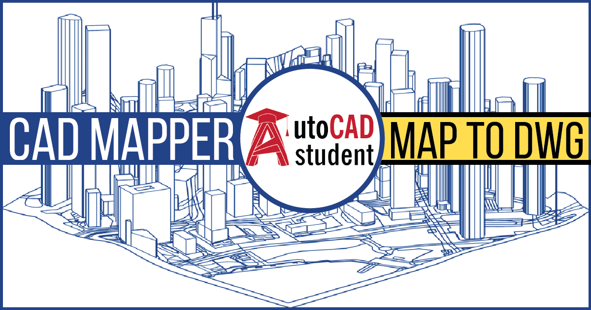 Download AutoCAD map